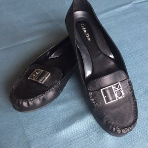 Black Calvin Klein Loafer